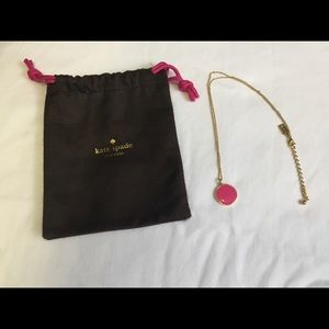 Kate Spade Think Pink necklace